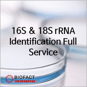 16s & 18s rRNA Identification Full Service
